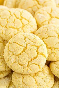 Lemon Cookies ~ Cooking Classy