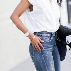 From season to season, every stylish woman will go through the hottest trends, but the secret to their everlasting style is really within their most basic items.