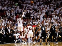 Game 6 in Miami: Heat 103, Spurs 100 (OT)