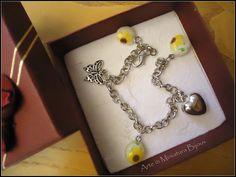 Sunflowers Handmade Bracelet