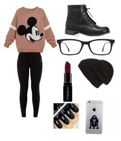 """""""Tomboy"""" by obey-the-myla on Polyvore featuring Avenue, Ray-Ban, Phase 3, Smashbox, women's clothing, women's fashion, women, female, woman and misses"""