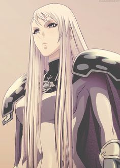 Claymore. God's eye Galatea
