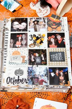 October is my favorite month and Fall is my favorite season and Halloween  is my favorite holiday and I got married in October so it's also when I  have my anniversary....so for these reasons and so much more, every year  for years I have done an October Daily. It's inspired by Ali Edwards'  December Daily but about October and it's always so much fun to do. This  year, I was super lucky because Crate Paper came out with the cutest  Halloween collection called After Dark. I love it! It's the…