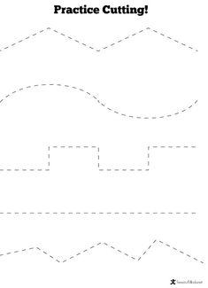 Preschool Cutting Practice Worksheets Pin On Worksheets Cutting Activities, Pre K Activities, Educational Activities, Preschool Activities, Dementia Activities, Physical Activities, Preschool Printables, Preschool Classroom, Preschool Learning