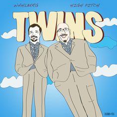 One twin got all the shitty genes Wack Pack, Howard Stern Show, Twin, Twins