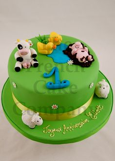 Cake with animals                                                                                                                                                                                 Plus
