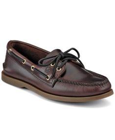 c2f0ed36aeb53 Sperry Men s Authentic Original A O Boat Shoe - Brown 16