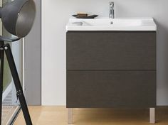 L-CUBE Mueble bajo lavabo by DURAVIT diseño Christian Werner