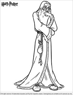 Harry Potter coloring page Cartoon Coloring Pages, Kids Coloring, Coloring Book Pages, Coloring Pages For Kids, Free Coloring, Harry Potter Colors, Harry Potter Free, Harry Potter Colouring Pages, Cartoon Chef