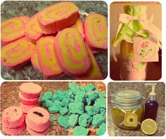DIY Lush products. Might be interesting to try