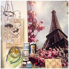 Show Us Your Workspace - lebeauchaton   Etsy Christmas in July