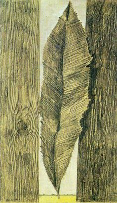 Leaf customs - Max Ernst, 1925