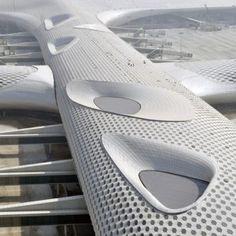 Shenzhen Bao'an International Airport Terminal 3 by Studio Fuksas #architecture ☮k☮