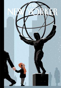 Stunning Christoph Niemann Illustrations for The New Yorker – Fubiz Media