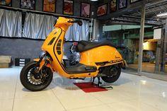 Bild Vespa Lx, Piaggio Vespa, Vespa Sprint, Lambretta Scooter, Vespa Scooters, Vintage Vespa, Vintage Bikes, Classic Vespa, Scooter Design