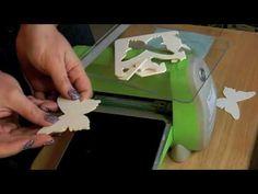 Cutting Felt Chipboard and Fun Foam with the CuttleBug