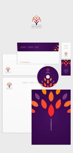 Various Logos and Stationary (Arabic & English) on Behance