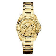Me gustó este producto Guess Reloj Mujer Dorado. ¡Lo quiero!