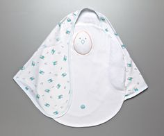 The Zen Swaddle from Nested Bean simulates a parent's touch while safely swaddling your baby!