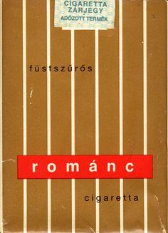 Romanc Fuestszueroes Cigaretta - Sold in Hungary