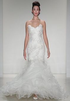 Matthew Christopher Brigitte Wedding Dress