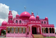 Pink mosque to open to Muslims in Maguindanao for Ramadan | News ...
