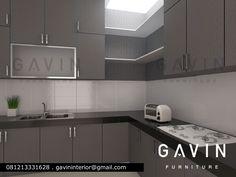 Desain 3D Kitchen cabinet untuk ibu Lisa semanan jakarta barat. by Gavin Furniture