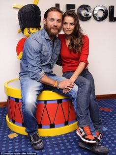 Tom Hardy & Charlotte Riley at the Legoland Hotel Resort in Windsor