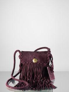 46bc6c486f Suede Fringe Cross-Body - Ralph Lauren Ralph Lauren Handbags - RalphLauren .com