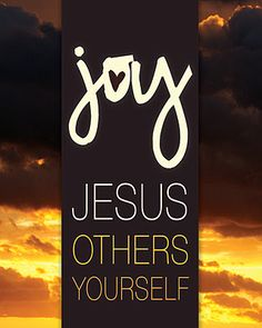 Joy Jesus Others You Craft