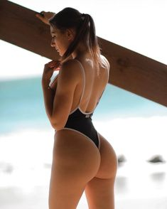 The Super Sexy Me One-Piece Swimsuit is a really sexy bathing suit for the perfect summersault. Monokini Swimsuits, Bikini Swimwear, Thong Bikini, Bikinis, Backless One Piece Swimsuit, One Piece Swimwear, Strings, One Piece Suit, Beachwear For Women