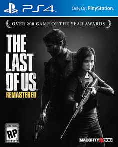 The Last of Us Remastered on PS4. The PS3 version was pretty but I know this will be gorgeous.