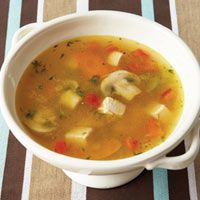 Dr. Phil's Turkey Vegetable Soup from Delish.com #vegetables #protein #myplate
