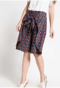 Wanita Pakaian Bawahan Celana Legging Celana Jessie Rianty Batik Model Rok Fashion Style