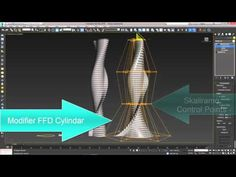 3ds Max Array Parametric No Plugin - YouTube