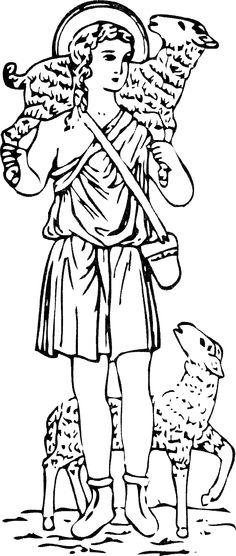 Good Shepherd  (Even better resolution)