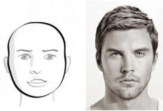 9cc6a088318 Quite handy How To Choose A Men s Trendy Hairstyle Based On Face Structure.  Few simple rules to figure out your face shape.