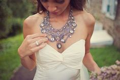 Love this statement necklace!