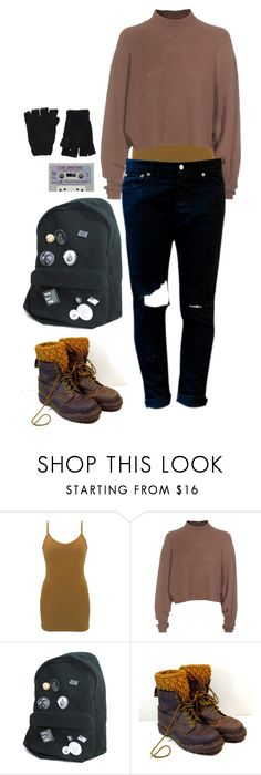 """""""crop knit sweater"""" by dance4ever1222 ❤ liked on Polyvore featuring BKE, Acne Studios and The Elder Statesman"""