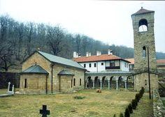 Bukovo Monastery in Eastern Serbia (near Negotin)