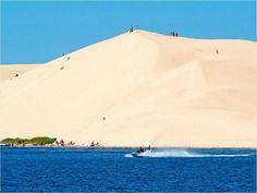 Sleeping Bear Dune @ Lake Michigan- 3+ miles of BIG, sandy HILLS
