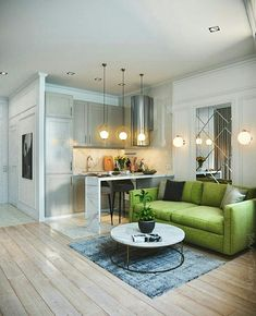 78 Small Apartment Design With Unique Yet Smooth Look Townhouse Interior, Small Apartment Interior, Condo Interior, Small Space Interior Design, Small Apartment Design, Flat Interior, Home Design Decor, Home Room Design, Small Apartments