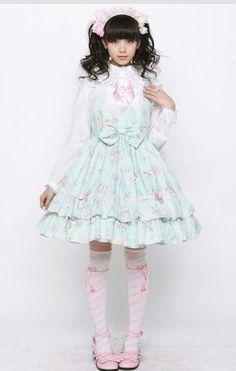 ♥ ロリータ, Sweet Lolita, Fairy Kei, Lolita, Loli, Decora, Gothic Lolita, Victorian, Rococo♥ | ロリータ | Pinterest