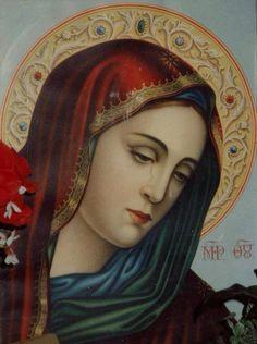 Mary María Magdalena, Jesus Christus, Blessed Virgin Mary, Blessed Mother Mary, Hail Mary, Catholic Prayers, Catholic Art, Santa Maria, Our Lady Of Sorrows