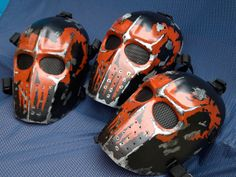 Army of Two v1 Goat Style Airsoft Mask  Made to by HiddenAssassins, £62.00