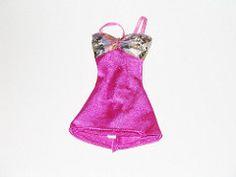 Genuine Barbie Fashion - Fuschia Dress