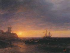 Sunset at Sea - Aivazovsky Ivan