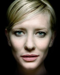 Cate Blanchett. They say I'm a younger version of 'Galadriel'.. Maybe the nose? She makes me confident that bigger noses and high cheekbones are not as horrible as people with perfect features like to make us think. Long live the hyper cheeked schnozes!