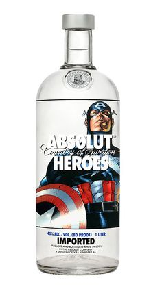 art, creative, design, digital, Illustration, Inspiration, packaging, product, advertising, captain america
