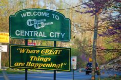 Central City, Kentucky - birthplace of the Everly Brothers